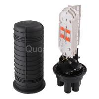 Buy cheap FTTH Dome Type Fiber Optic Splice Closure With PLC splitter FOSCDE from wholesalers