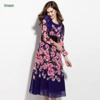 Buy cheap Custom Floral Printed Polyester Georgette Fabric Wholesale from wholesalers