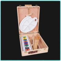 Buy cheap 51 pcs art set in wooden box(good quality) from wholesalers