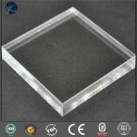Buy cheap Mirror High Mechanical Strength 3-30mm Acrylic Sheet For Advertising Material from wholesalers