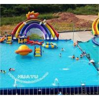 Buy cheap Ultra Frame Pool Intex tube rack swimming pool card skimmer use in 30x30m swimming pools from wholesalers