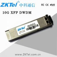 Buy cheap dwdm xfp 10 g 1550nm 80 km 10gtransceiver jungwoq supplier 'eS 'ay' from wholesalers