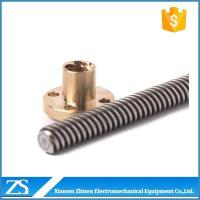 Buy cheap Lead Screw Acme Single Thread Lead Screw Angle Anti Backlash Nut from wholesalers