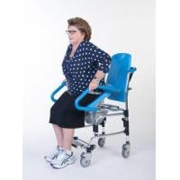 Buy cheap Getting Ready ErgoActive Rolling Commode Chair with Assistive Seat product