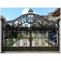 Buy cheap Cast Steel Ornaments wrought iron gate model from wholesalers