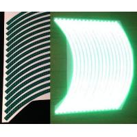 Customtaylor33 (all Vehicles) Green High Intensity Grade Reflective Copyrighted Safety Rim Tapes (mu