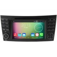 Buy cheap Mercedes-Benz CLK-W209 CLS-W219 Android GPS Navigation Car Stereo (2002-2008) from wholesalers