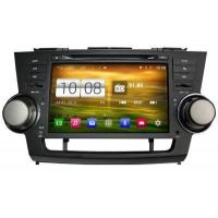 Buy cheap Toyota Highlander Android OS Navigation Car Stereo (2008-2013) product