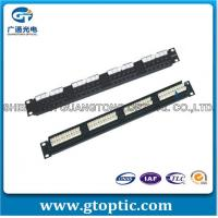 Buy cheap Network Cabling 24 Port Cat6 Patch Pa 24 Port Cat6 Patch Panel from wholesalers