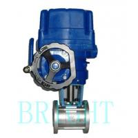 Buy cheap Hs4810 Electric Eccentric Plug Rotary Ball Control (shut-off) Valve from wholesalers