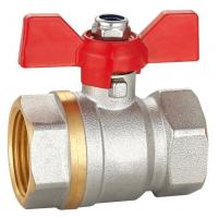 Buy cheap Brass Ball Valve 600 Wog Water Red Lever Handle from wholesalers