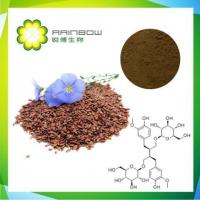 Buy cheap Flax Seed Extract,SDG Lignans 20% 40%,phytoestrogens,natural high quality from wholesalers