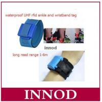Buy cheap 1-6m rfid long range bracelet waterproof ankle wristband uhf rfid tag for triath from wholesalers