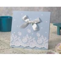 Buy cheap Wedding Favors Wholesale Laser Cut Wedding Invitation Cards from wholesalers