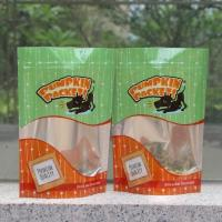 Buy cheap Bottom gusset stand up aluminum foil food pouch with clear window from wholesalers