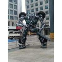 Buy cheap Gifts & Crafts Occasion HOLDAIY Used in Trade Fair and Exhibition Design Iron Robot Man from wholesalers