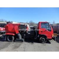 Buy cheap 2001 Isuzu NPR with Tymco 210 Sweeper used for sale from wholesalers