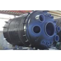 Buy cheap 30000L Half Pipe Jacketed Vessel , jacketed pressure vessel stainless steel reactor from wholesalers