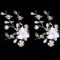 Buy cheap New Design Flower Wedding Headpiece Bridal Hair Clip Piece from wholesalers