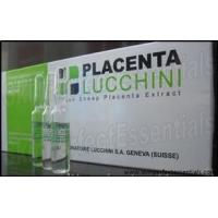 Buy cheap 9 trays Placenta Lucchini Fresh Sheep Placenta Extract 10 ampoules x 2ml / tray product