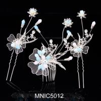Buy cheap Bridal Hair Bands Hair Pins And Hair Flower Comb For Wedding Headwear Jewelry from wholesalers