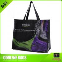Buy cheap High Quality Logo Print Handled New Fashion Design Poly Woven Bags Manufacturer from wholesalers
