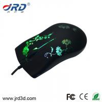 Buy cheap Glowing Wired Optical Gaming Mouse Cheap Game Mouse from wholesalers