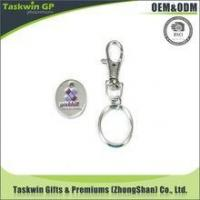 Buy cheap Promotional Cheap Custom supermarket shopping trolley coin locks from wholesalers
