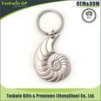 Buy cheap Promotional custom Metal printed logo zinc alloy die-casting Keychain from wholesalers