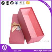 Buy cheap Simple Paper Gift Box with Hot stamping from wholesalers