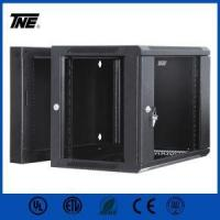 Buy cheap Double Section Wall Mount Cabinet Assembled 9U Server Rack from wholesalers