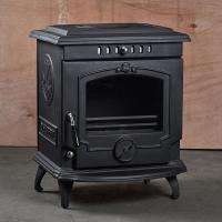 Buy cheap HiFlame Classical European Style Freestanding Cast Iron Wood Burning Fireplace With Back Boiler HF24 from wholesalers