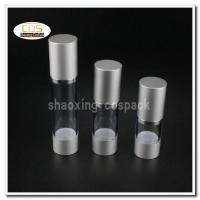 Buy cheap 50pcs/lot ZA22 15ml 30ml 50ml aluminium clear airless pump bottles wholesale from wholesalers
