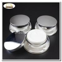 Buy cheap 50pcs/lot JA34-15g clear acrylic jars with sliver lids from wholesalers