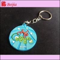 Buy cheap Gifts & Crafts Best give away gifts glow in dark custom logo 2D/3D soft rubber keyring,pvc keychain from wholesalers