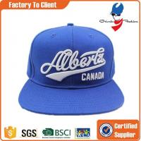 Buy cheap Fashion Accessories best selling 3d letters custom made snapback hats for young men from wholesalers