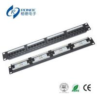 Buy cheap Cat5e Patch Panel Rack from wholesalers