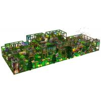 Buy cheap Playgrounds Indoor Playgrounds Jungle Theme from wholesalers