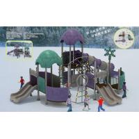 Buy cheap Playgrounds Children Outdoors Playgrounds Big Slides For Sale from wholesalers