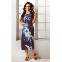 Buy cheap Kurtis-Tunic Navy Blue Long Tunic - DIF 37131 from wholesalers
