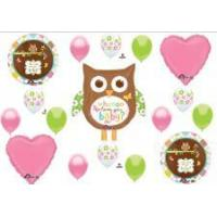Buy cheap Whho Loves You Girl Baby Shower Balloons from wholesalers