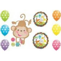 Buy cheap Welcome Baby Gender Monkey Balloons from wholesalers