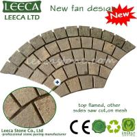 Buy cheap LEECA 14th Xiamen Stone Fair Mesh paver stone H3 from wholesalers