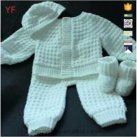 Buy cheap Children in Crochet Pattern Baby Sweater from wholesalers