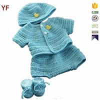 Buy cheap 100% Cotton Free Crochet Sweater Baby Pattern from wholesalers