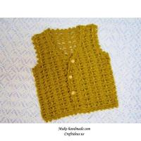 Buy cheap Crochet baby vest and jacket, crochet pattern from wholesalers