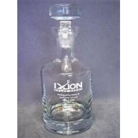Buy cheap Decanters Plain Circular Decanter Text & Logo Engraved from wholesalers
