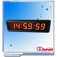 Buy cheap Led clock 1.8 red digital led clock Model number:GC1806 from wholesalers