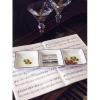 Buy cheap New & Noteworthy Piano and Martini Snack Tray from wholesalers