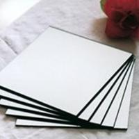Buy cheap 2mm To 6mm Clear Float Aluminum Mirror Glass With CE And ISO from wholesalers